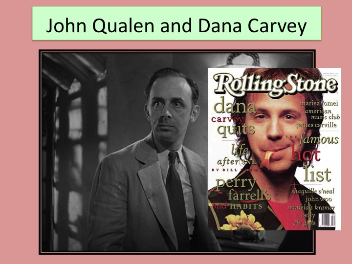 558ff722e6f I have a strong suspicion John Qualen is the father of Dana Carvey or some  other close relative (or clone).